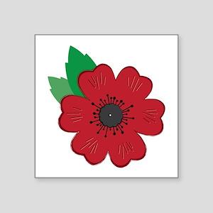 Remembrance Day Poppy Sticker