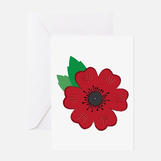 Remembrance Day Poppy Greeting Cards