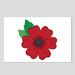 Remembrance Day Poppy Postcards (Package of 8)