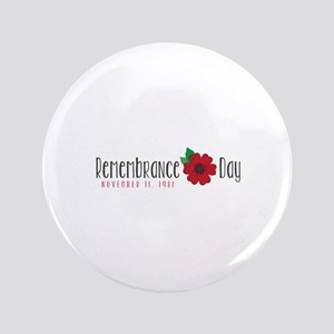 "Remembrance day 3.5"" Button"