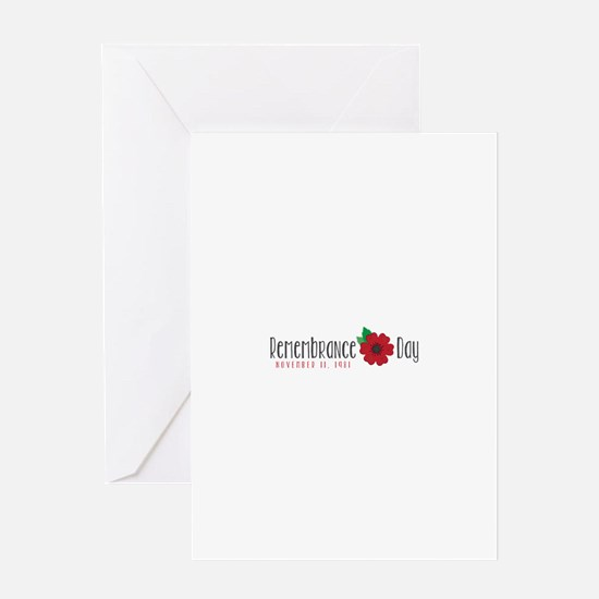 Remembrance day Greeting Cards