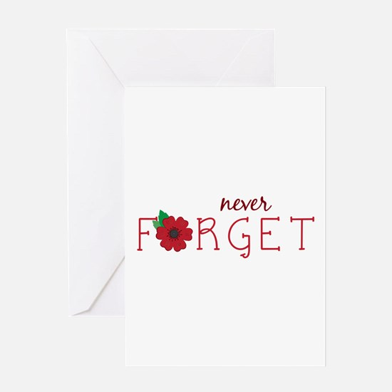 Never forget Greeting Cards