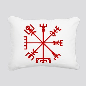 Blood Red Viking Compass : Vegvisir Rectangular Ca