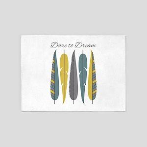 Dare To Dream 5'x7'Area Rug