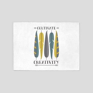Cultivate Creativity 5'x7'Area Rug
