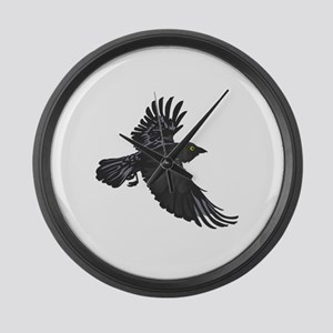 RAVEN Large Wall Clock