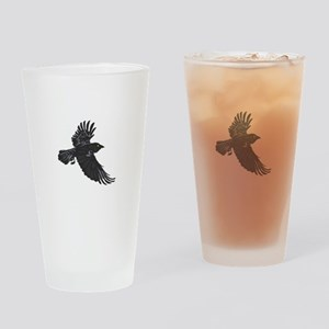 RAVEN Drinking Glass