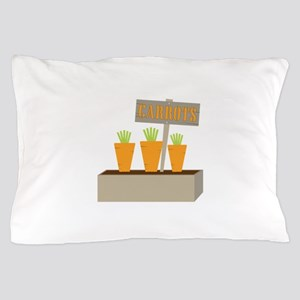 Planted Carrots Pillow Case