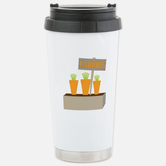 Planted Carrots Travel Mug