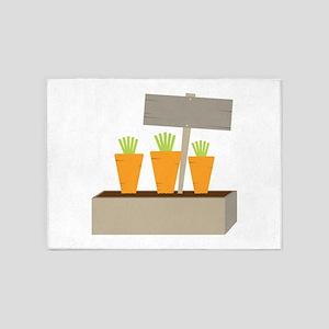 Carrots Caption 5'x7'Area Rug