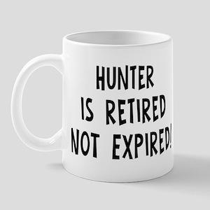 Hunter: retired not expired Mug