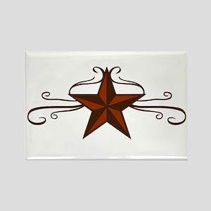 WESTERN STAR SCROLL Magnets