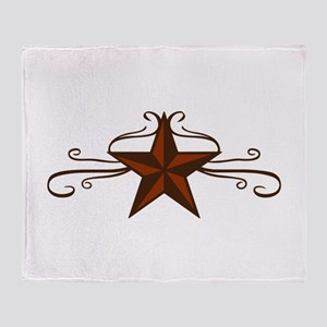 WESTERN STAR SCROLL Throw Blanket