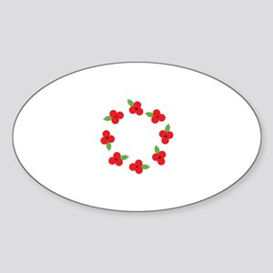 Poppy Wreath Sticker