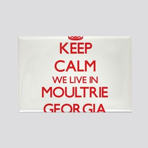 Keep calm we live in Moultrie Georgia Magnets