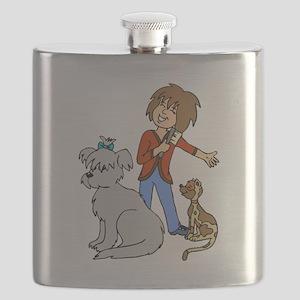 Dog Groomer Flask