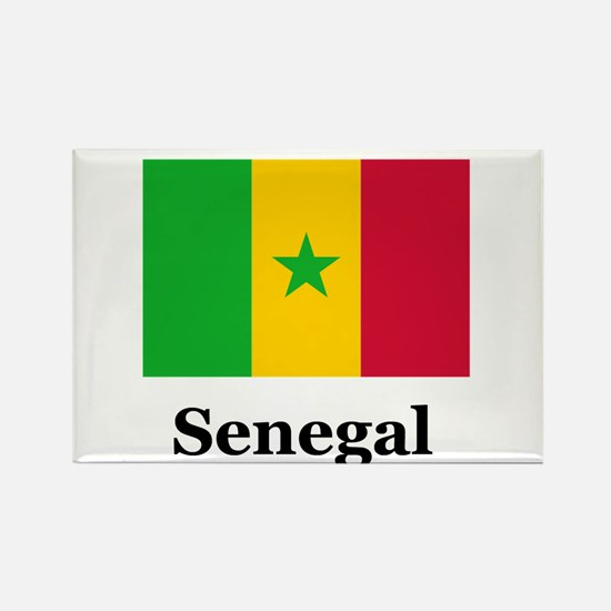 Senegalese Heritage Senegal Rectangle Magnet