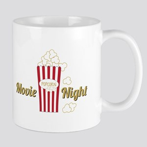 Movie Night Popcorn Mugs