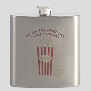 Butter and Popcorn Flask