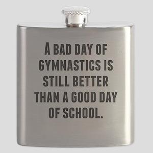 A Bad Day Of Gymnastics Flask