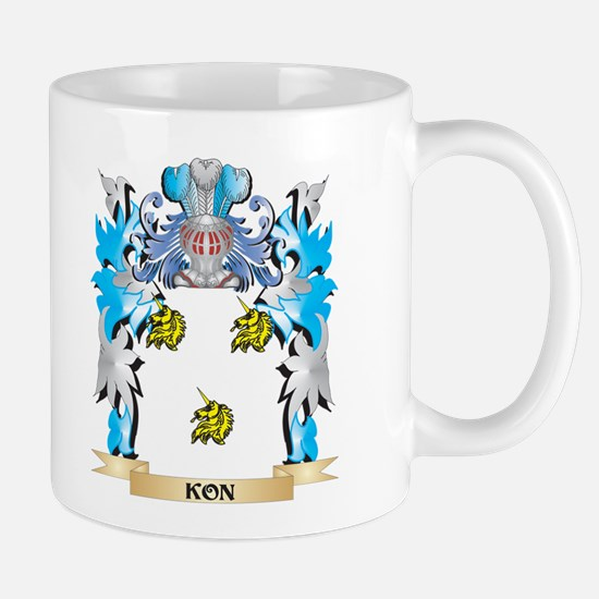 Kon Coat of Arms - Family Crest Mugs