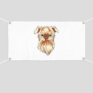 BRUSSELS GRIFFON DOG Banner