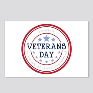 Celebrate veterans day Postcards (Package of 8)