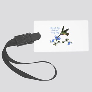 CELEBRATE LIFE Luggage Tag