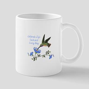CELEBRATE LIFE Mugs