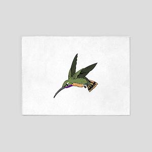 WOODSTAR HUMMINGBIRD 5'x7'Area Rug