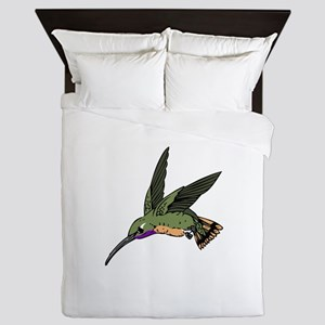 WOODSTAR HUMMINGBIRD Queen Duvet