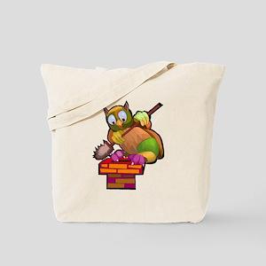 Chimney Sweep Owl Tote Bag