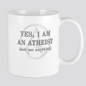 Yes I Am An Atheist Mugs