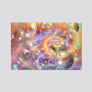 Colorful Floating Orbs Magnets