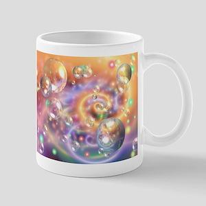 Colorful Floating Orbs Mugs