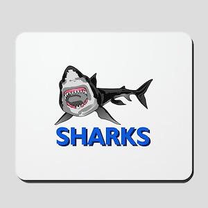 SHARKS MASCOT Mousepad