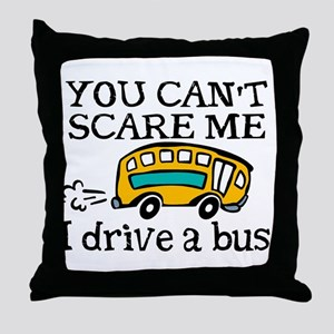 Bus Driver Throw Pillow