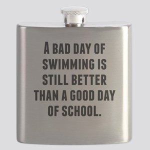 A Bad Day Of Swimming Flask