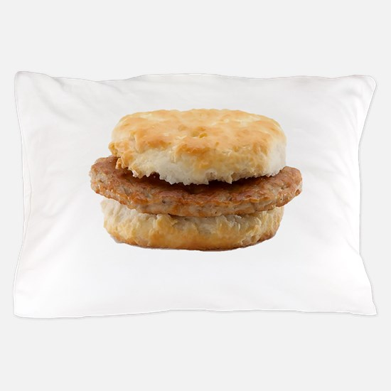 Sausage Biscuit Pillow Case