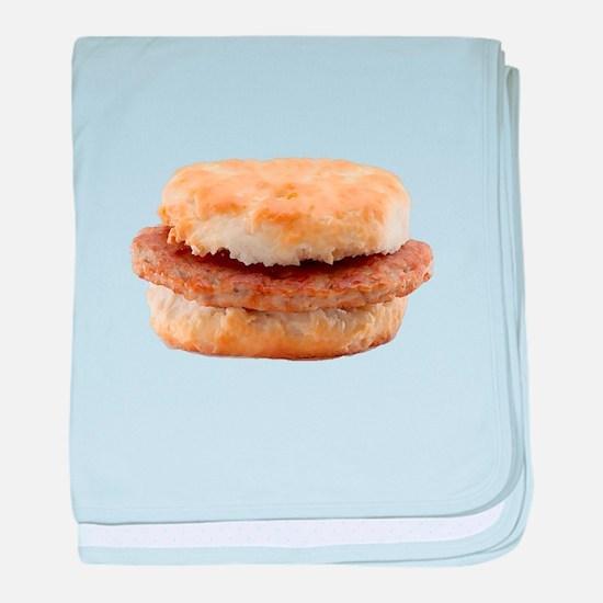 Sausage Biscuit baby blanket