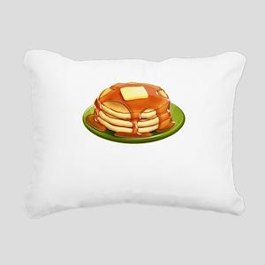 Stack of Pancakes Rectangular Canvas Pillow