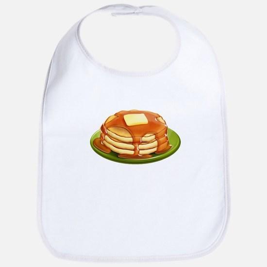 Stack of Pancakes Bib