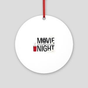 Movie Night Ornament (Round)