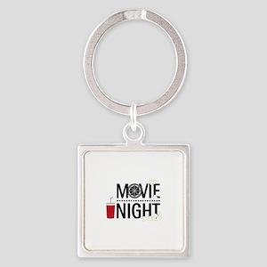 Movie Night Keychains
