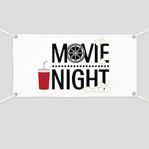 Movie Night Banner