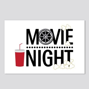Movie Night Postcards (Package of 8)