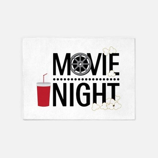 Movie Night 5'x7'Area Rug