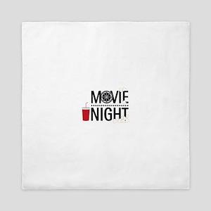 Movie Night Queen Duvet