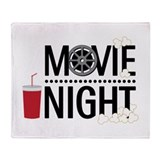 Movie night Fleece Blankets