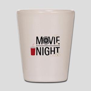 Movie Night Shot Glass